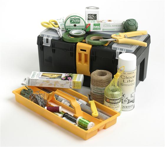 Floristry tool box flower arranging kit rays