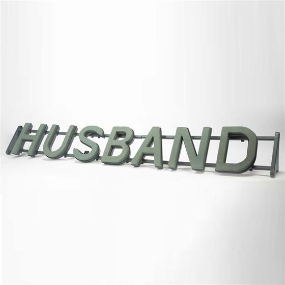 Oasis HUSBAND Funeral Frame