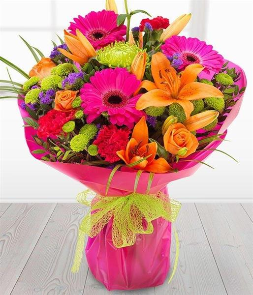 Simply Fabulous Handtied Bouquet Rays Florist Flower Shop Ash