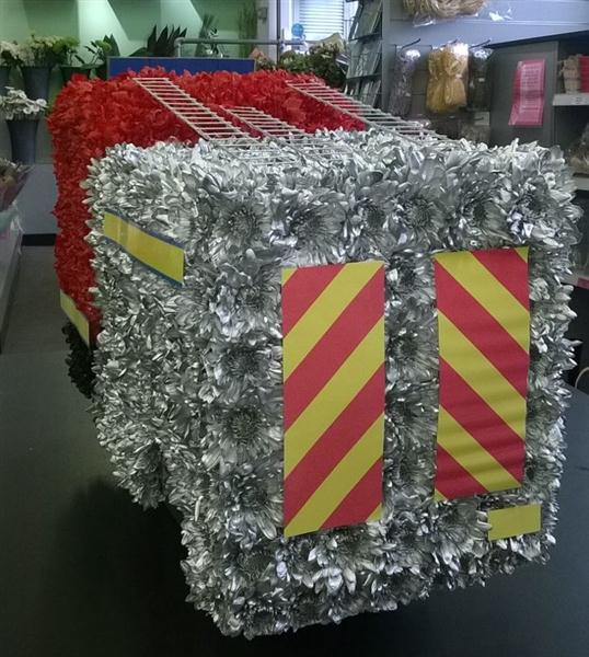 Fire Engine 3d Funeral Tribute Rays Florist Local Funeral Tribute