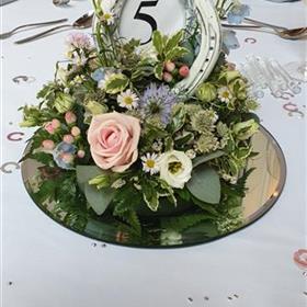 Table Arrangements Floral Table Displays Rays Florist Weddings